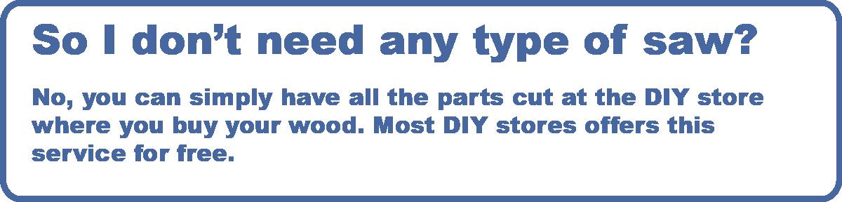 FAQ for Screwed Up DIY design furniture